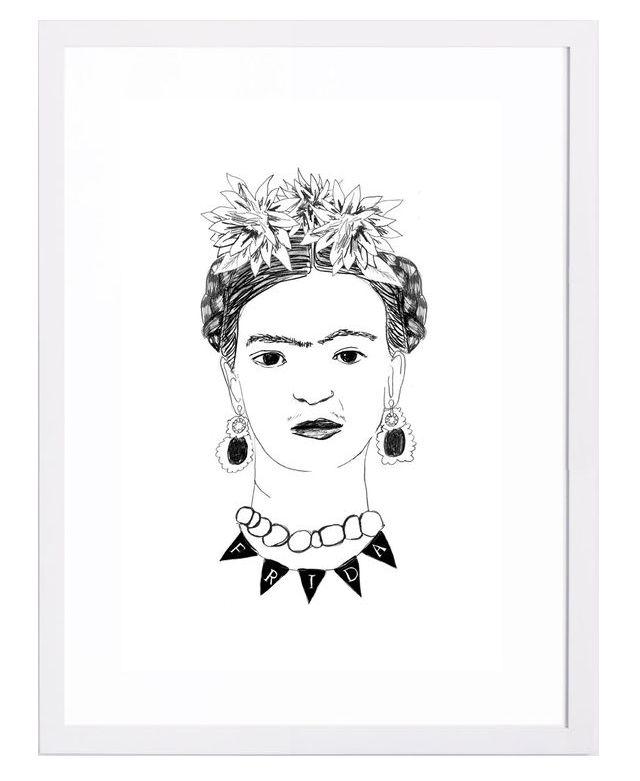 Dress Your Walls With Frida Kahlo // Frida by Dana Veraldi at Tappan Collective