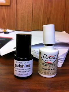 Playin' with GEL Polish: Sephora/OPI and ProGel Polish