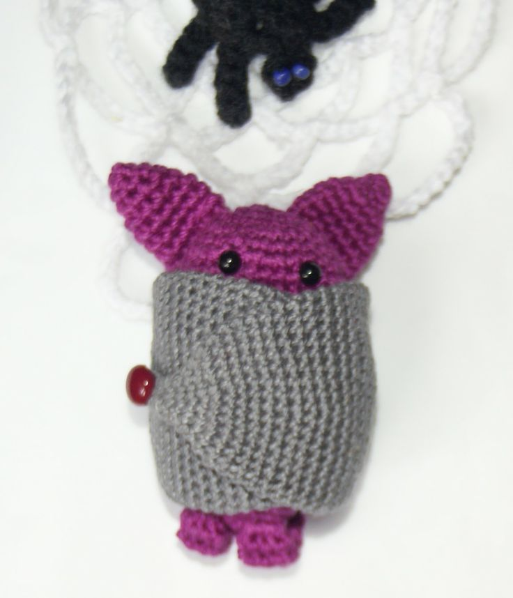 Halloween Amigurumi Crochet : Bat - amigurumi crochet for Halloween Cute Crochet ...