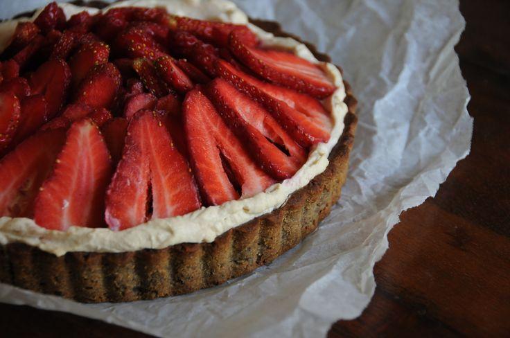 ... & Mascapone Tart on Pistachio Shortbread Crust Recipe (gluten free
