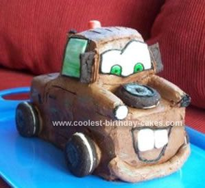 Coolest Tow Mater Cake 18