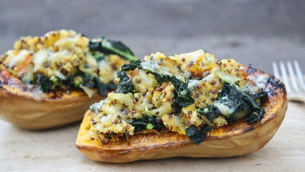 Twice Baked Butternut Squash | I love food. | Pinterest