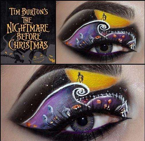 Nightmare Before Christmas eyes   My inner weird   Pinterest