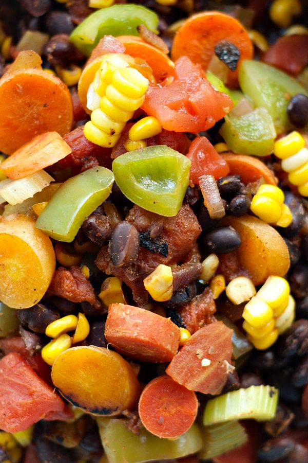 Todays recipe, Vegetable Black Bean Chili, is so yummy you can also ...