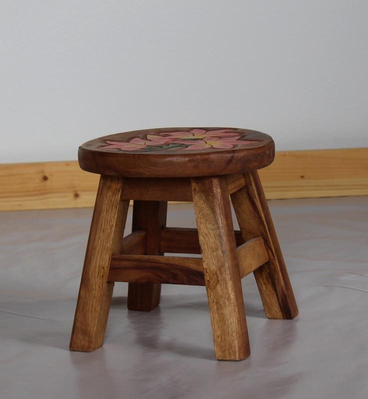 Small Wood Stool Child Seating Studio Pinterest