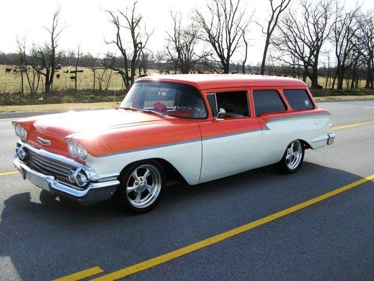 58 Chevrolet YEOMAN | | CLASSIC WAGONS | Pinterest