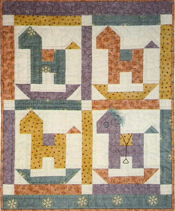 Quilt Patterns With Horses : Rocking Horse Quilt Pattern by Lori Smith