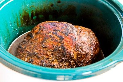 for Slow Cooker Pork Sirloin Tip Roast with Balsamic Vinegar, Rosemary ...