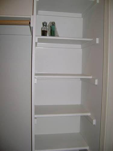 Do it yourself wood closet shelving life made easy d i for Simple closet shelves