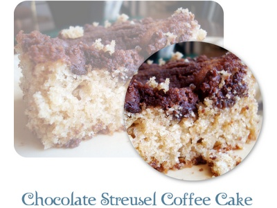 chocolate streusel coffee cake. | sucré. | Pinterest