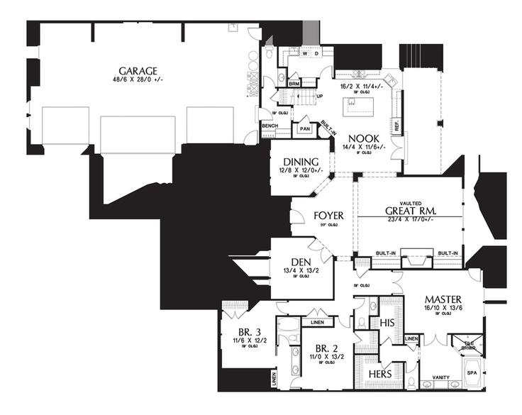 Mascord House Plan 2377