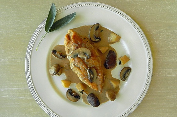 Chicken, Apples & Cream à la Normande | to cook | Pinterest