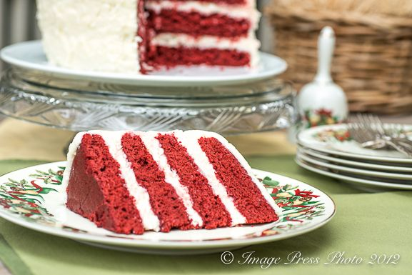 red velvet cake with coconut-cream cheese frosting from @Gwen Pratesi