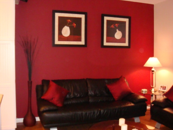 Red and black living room home decoration pinterest Red black and white living room