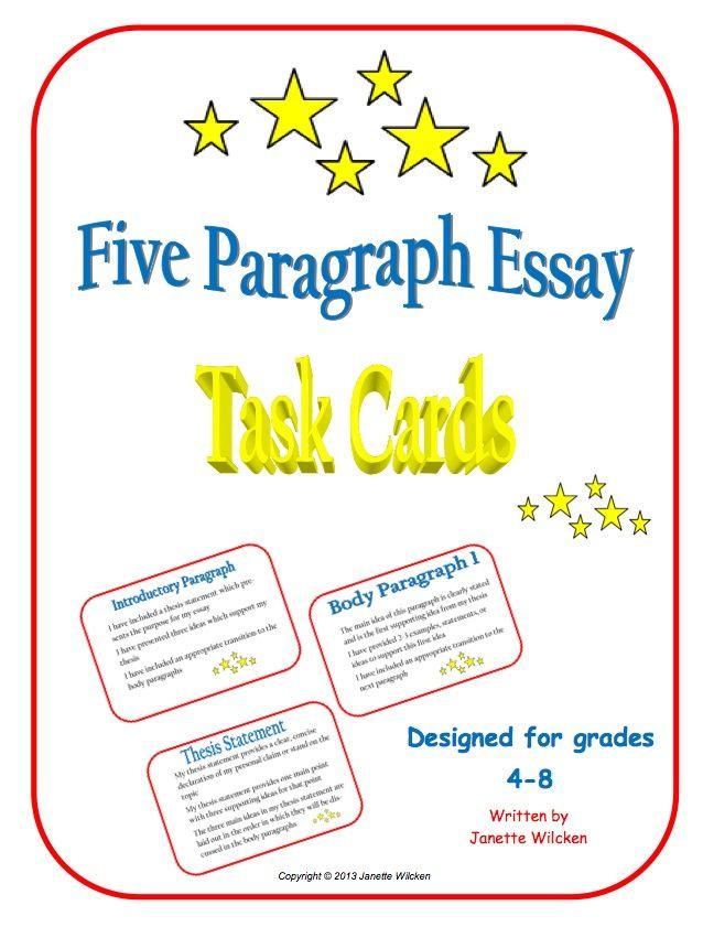 essay format checklist
