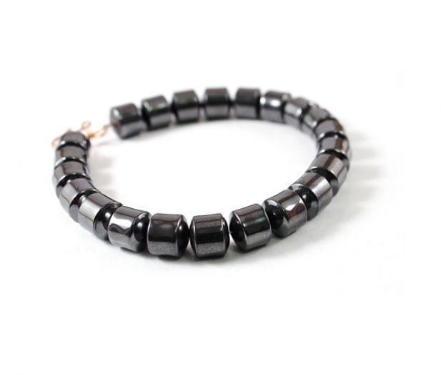 10 Valentine's Day Gifts for Him Under $50. Men's Hematite Bracelet ...