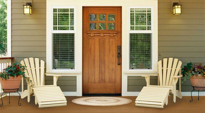 Classic Wood Door - LOVE