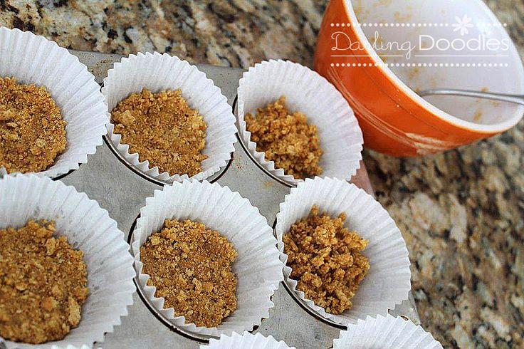 Individual Blueberry Cheesecake | yummy | Pinterest