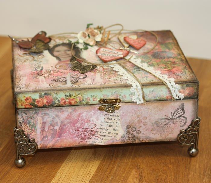 Smyckeslåda - Slöjd-Detaljer | jewelry box diy