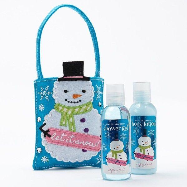 Simple pleasures shower gels body lotion