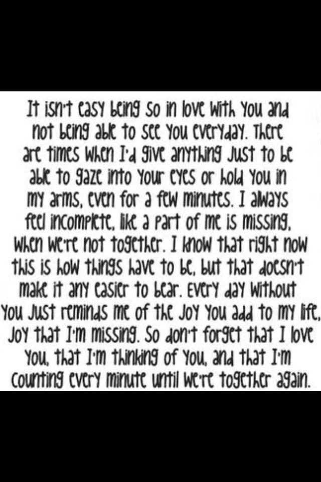 Missing him... Quotes Pinterest