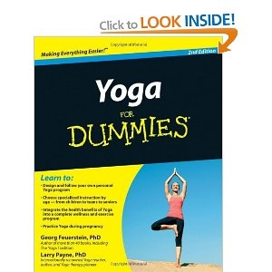 Yoga for dummies by georg feurestein and larry payne