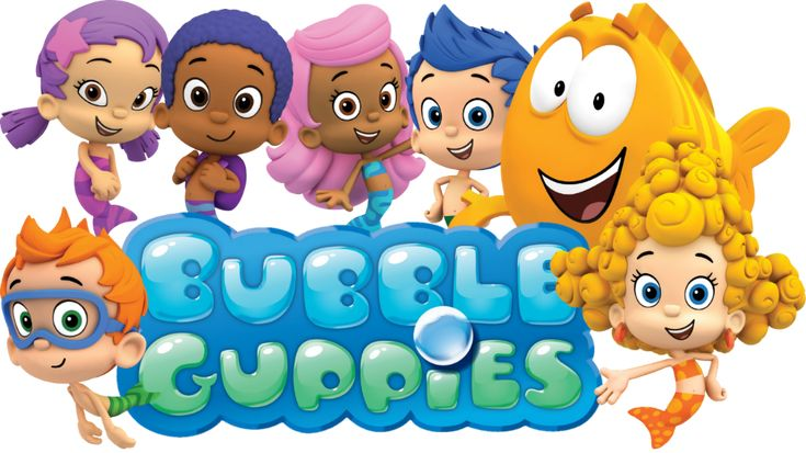 bubble guppies in happy valentine's play game for children's