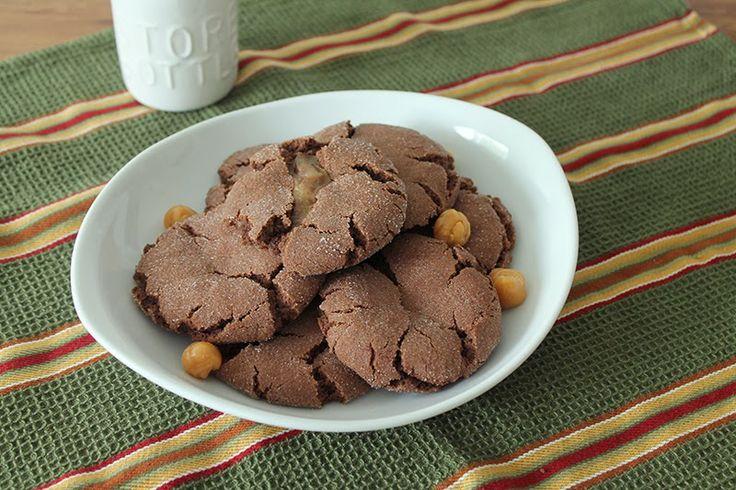 Chocolate Caramel Sugar Cookies | C is for Cookie | Pinterest
