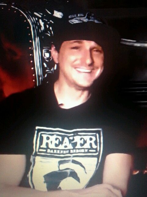 Sign up to see the rest of what s here Zak Bagans Smiling