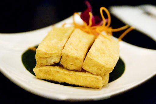 Crispy Pan-Fried Tofu Recipe on Yummly | Food | Pinterest