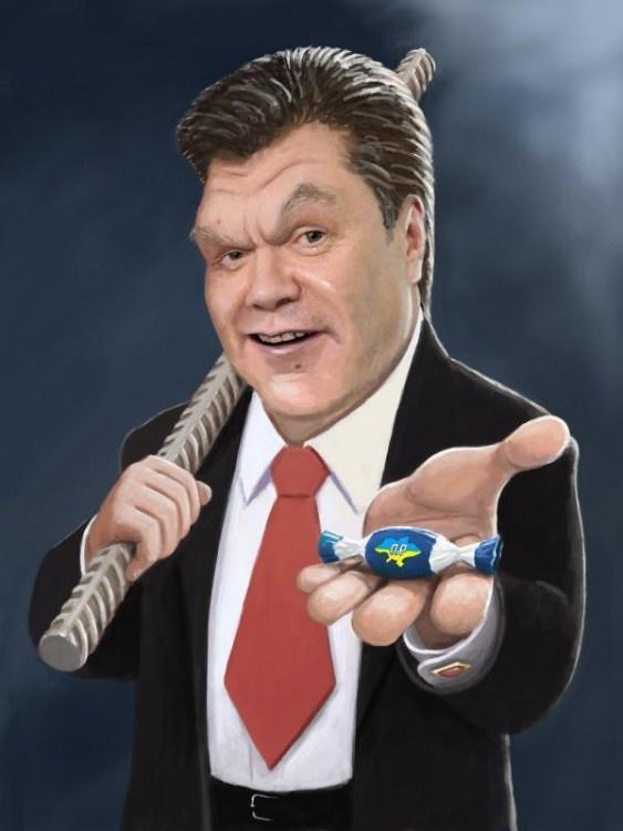 Prezydent Ukrainy Wiktor Janukowycz