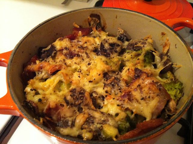 ... than anyone expected: Low carb recipe: cauliflower and bacon gratin
