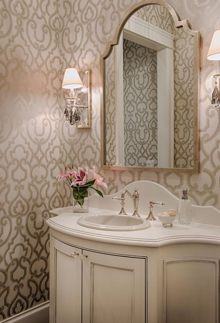 Beautiful Homes of Instagram - Home Bunch Interior Design Beautiful powder room pictures