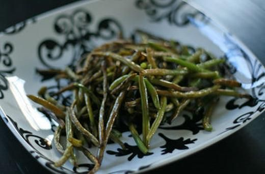 Balsamic Roasted Green Beans   Recipes to Try   Pinterest