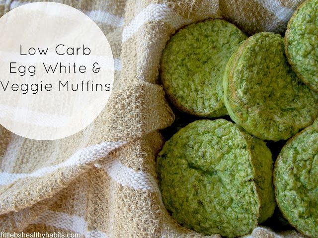 Little b's healthy habits: Low Carb Egg White & Veggie Muffins