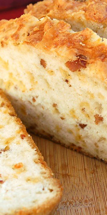 Bacon Cheddar Beer Bread   Bread, Bread, Bread!   Pinterest