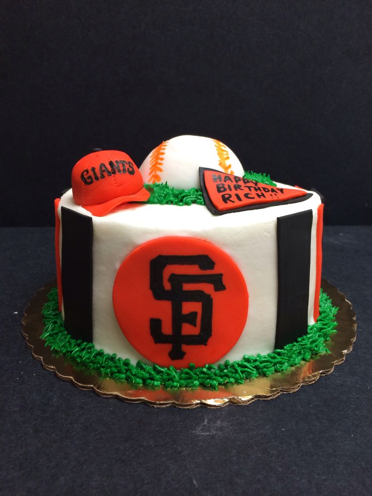 sf giants birthday cake