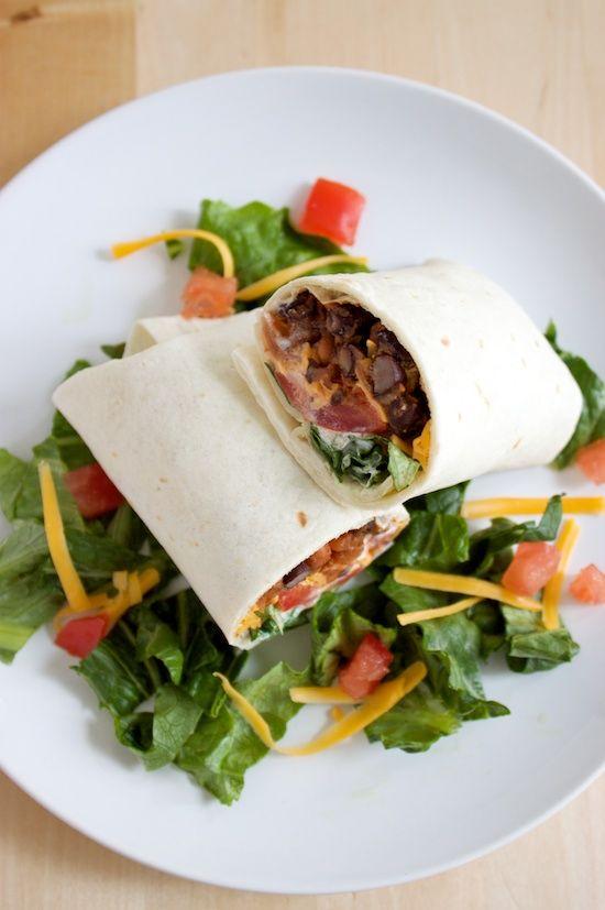 Spicy Bean Burritos (Freezer Friendly) | Beans, Potatoes, Vegetables ...