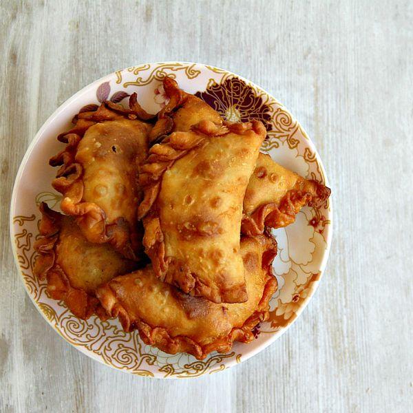 Sardine curry puffs