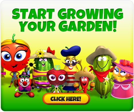 Virtual Vegetable Garden for Kids habitats and the