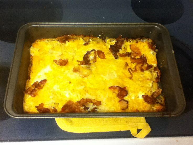 Potato bacon casserole | Food I've MADE | Pinterest