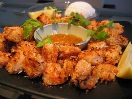 skinny coconut shrimp « keep it skinny | noms | Pinterest