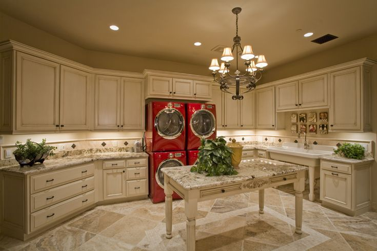 What a laundry room!