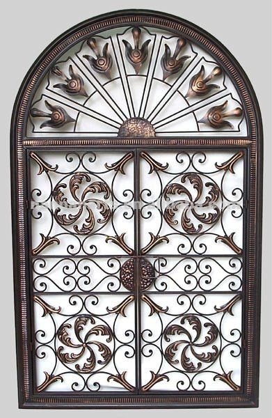 Iron Wall Decor Decorating Pinterest