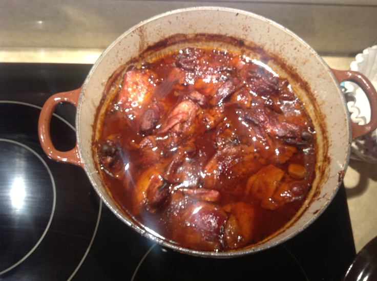 peach whiskey barbecue chicken the pioneer woman peach whiskey bbq ...