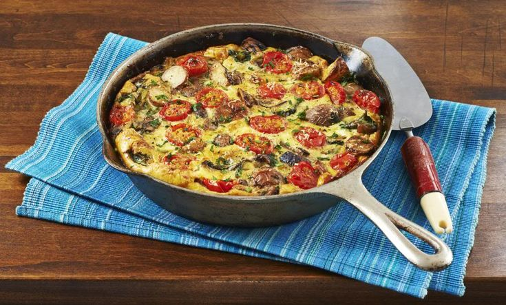 Easy and Delicious Vegetable Frittata Recipe