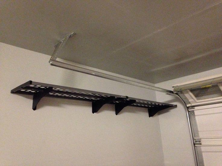 Garage storage. Kobalt racks from Lowes | Garage ideas | Pinterest