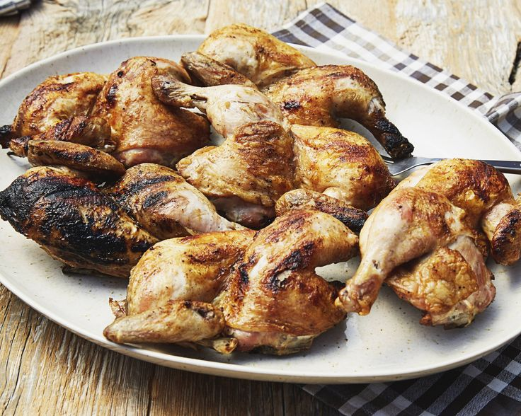 Trisha ensures that her chicken turns out moist every time by brining it overnight. She then grills the meat and bastes it with a tangy barbecue sauce.  #RecipeOfTheDay