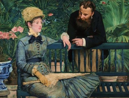 """Manet, """"En el Conservatorio""""."""