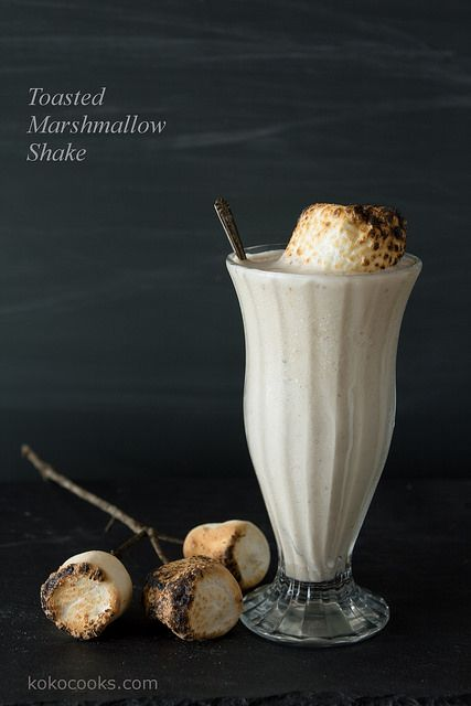 Toasted Marshmallow Milkshake from @kokocooks